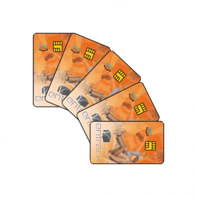 EN-Track chipcards 10 stuks