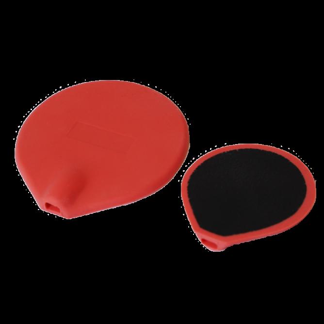 Siliconenrubberelektroden, geïsoleerd 5 cm (sale)